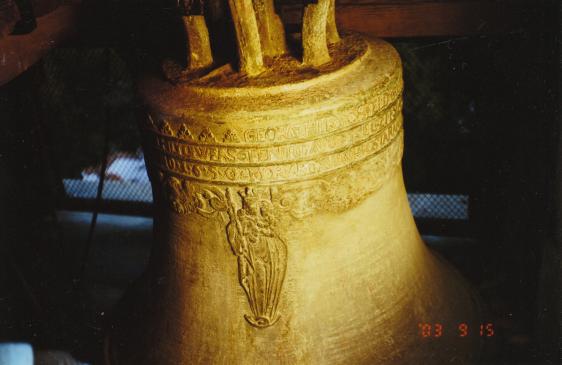 Starý zvon z roku 1650